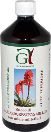 Succo Aloe Arborescens Miele