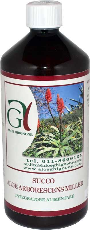Succo Aloe Arborescens Miller