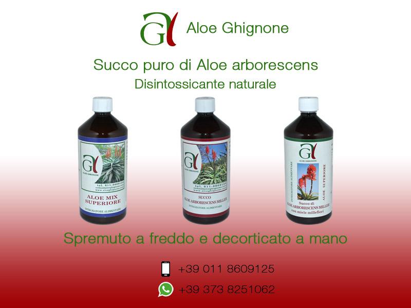 Succo di Aloe Arborescens purissimo